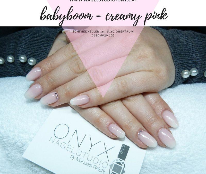 Babyboom – creamy Pink