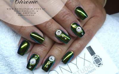 Green Gold Chrome