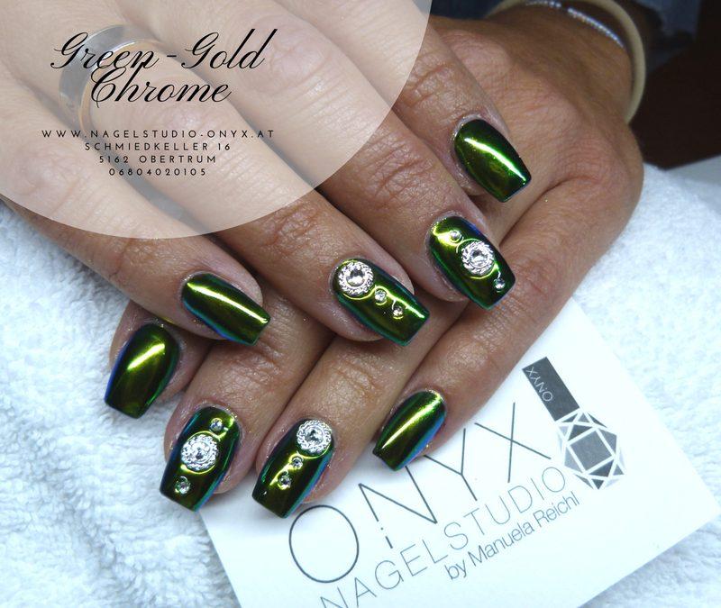 Green Gold Chrome