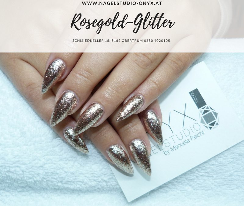 Rosegold Glitter